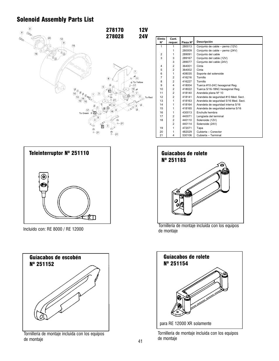 Ramsey Winch Solenoid 278170 - 1960 ramsey winch diagrams ... on