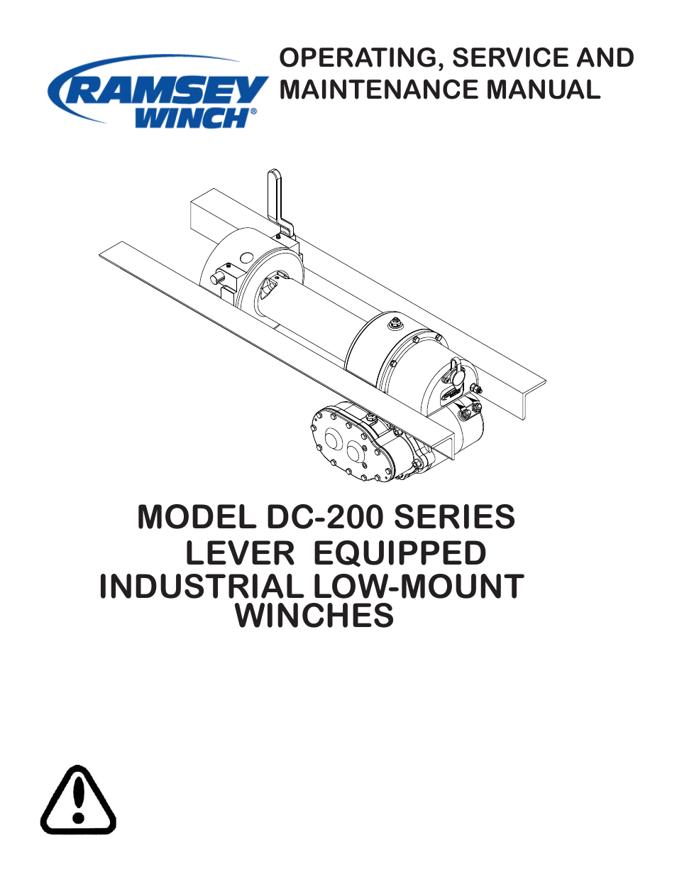 hight resolution of ramsey winch manual
