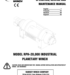 ramsey winch manual [ 954 x 1235 Pixel ]