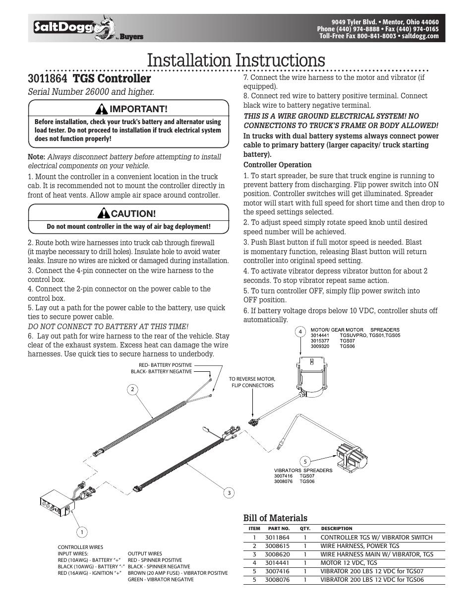 hight resolution of saltdogg tgs controller 3011864 tgsuvproa tgs01b tgs03 tgs05b western spreader wiring schematic salt dogg wiring diagram