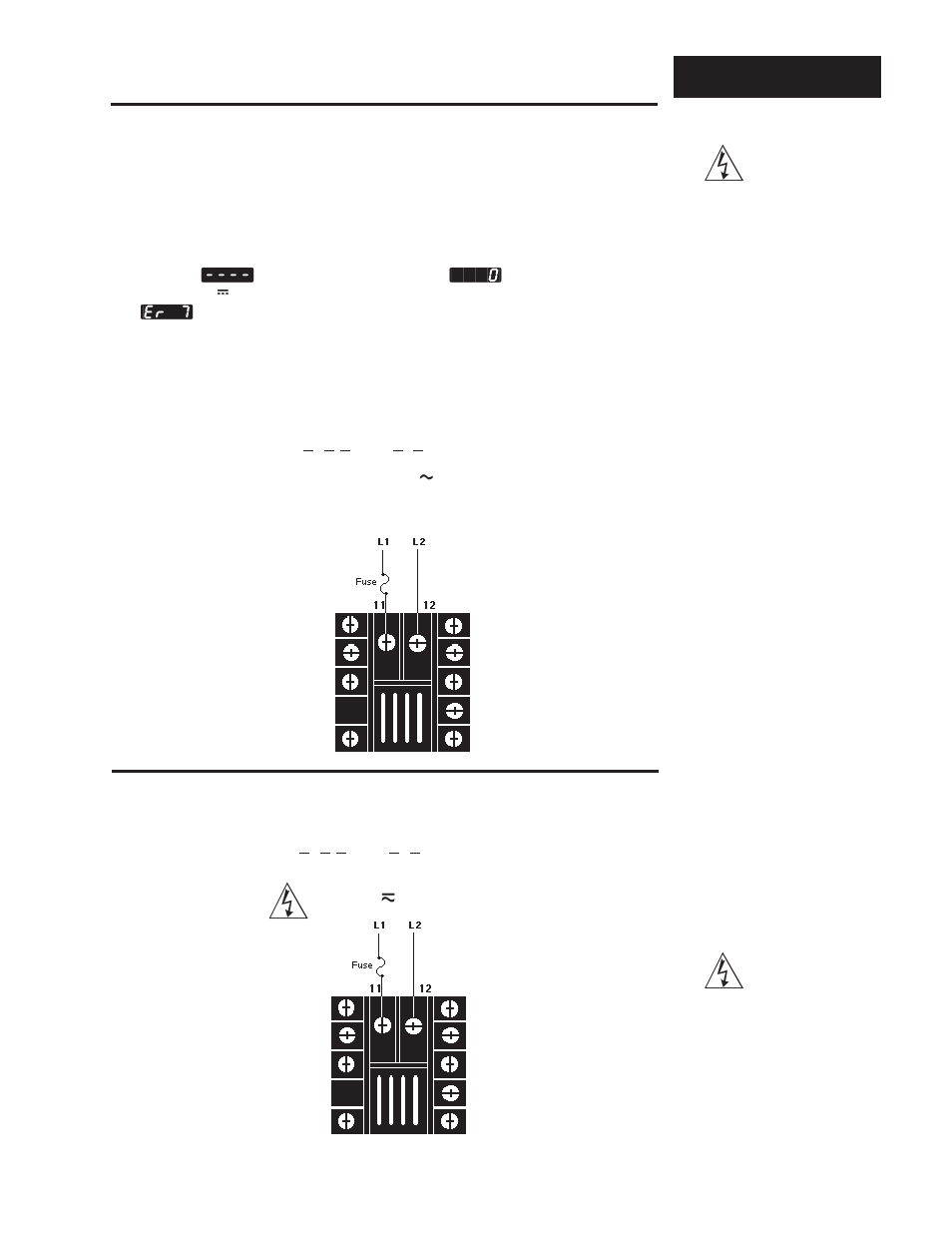 hight resolution of power wiring how to wire the series 965 high voltage watlow series 965 user manual page 7 43
