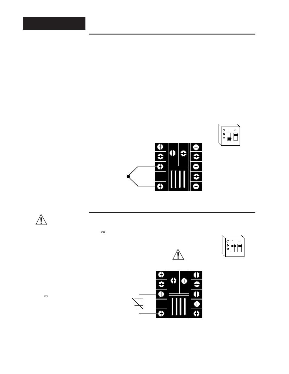 medium resolution of input wiring sensor installation guidelines thermocouple input thermocouple sensor input wiring dc