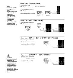 input 1 wiring 8 input 1 wiring thermocouple watlow series 982 user manual page 18 141 [ 954 x 1235 Pixel ]