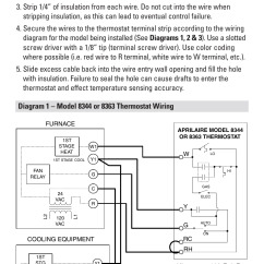 Hvac Thermostat Wiring Diagram Garden Solar Light Step 5 | Aprilaire 8344 User Manual Page 7 / 16