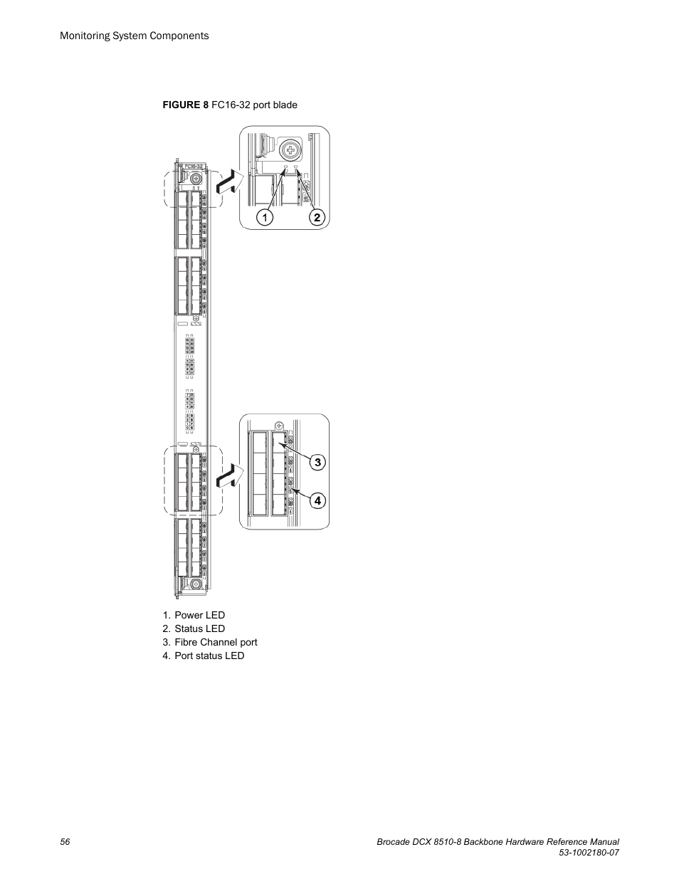 Brocade DCX 8510-8 Backbone Hardware Reference Manual User