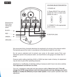 electrical installation burcam 506518ss sw stainless steel jet goulds jet pump wiring electrical installation burcam 506518ss [ 954 x 1235 Pixel ]