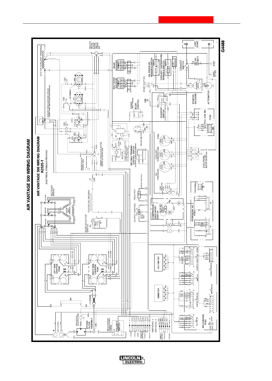 Diagrams, Air vantage® 500 cummins, Enhanced diagram