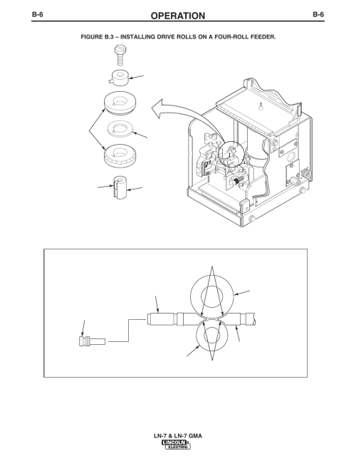 small resolution of operation lincoln electric im351 ln 7 gma wire feeder user manual page 36 62