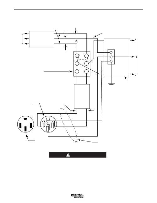 small resolution of installation figure 1 warning lincoln electric im925 ranger 10 000 plus user manual page 16 37