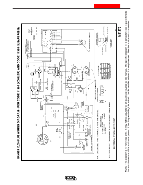 small resolution of diagrams lincoln electric im925 ranger 10 000 plus user manual page 31 37