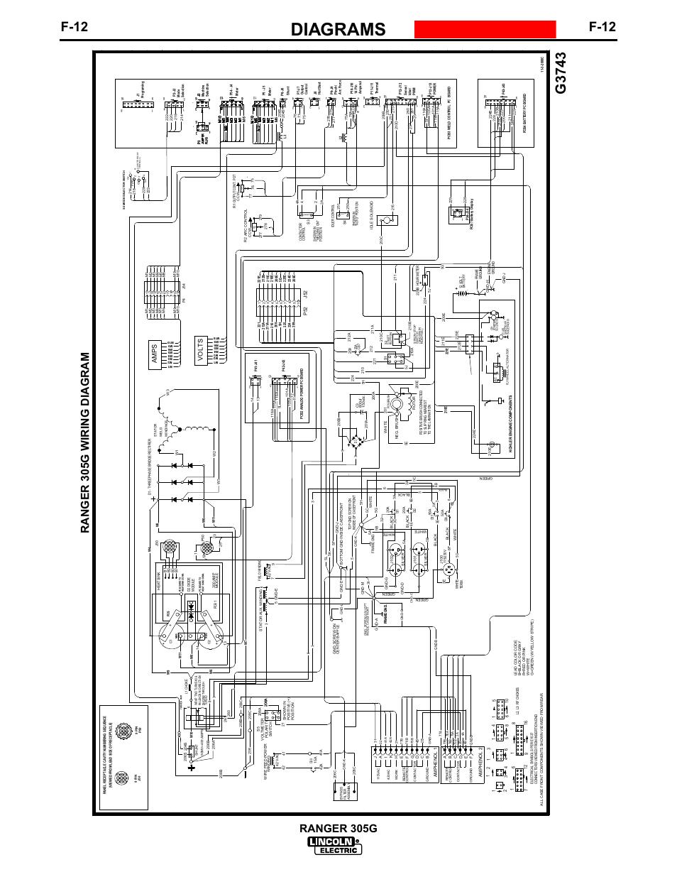 lincoln ranger 305d wiring diagram