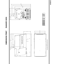 diagrams dimension print ranger 305g f 13 lincoln electric im674 ranger 305 g user manual page 46 50 [ 954 x 1235 Pixel ]