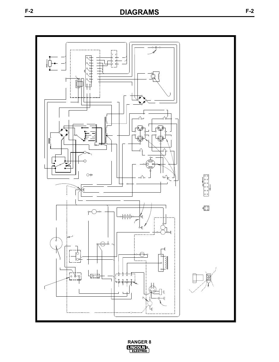 hight resolution of diagrams ranger 8 electrical symbols per e1537 lincoln electric im510 ranger 8 user manual page 31 42