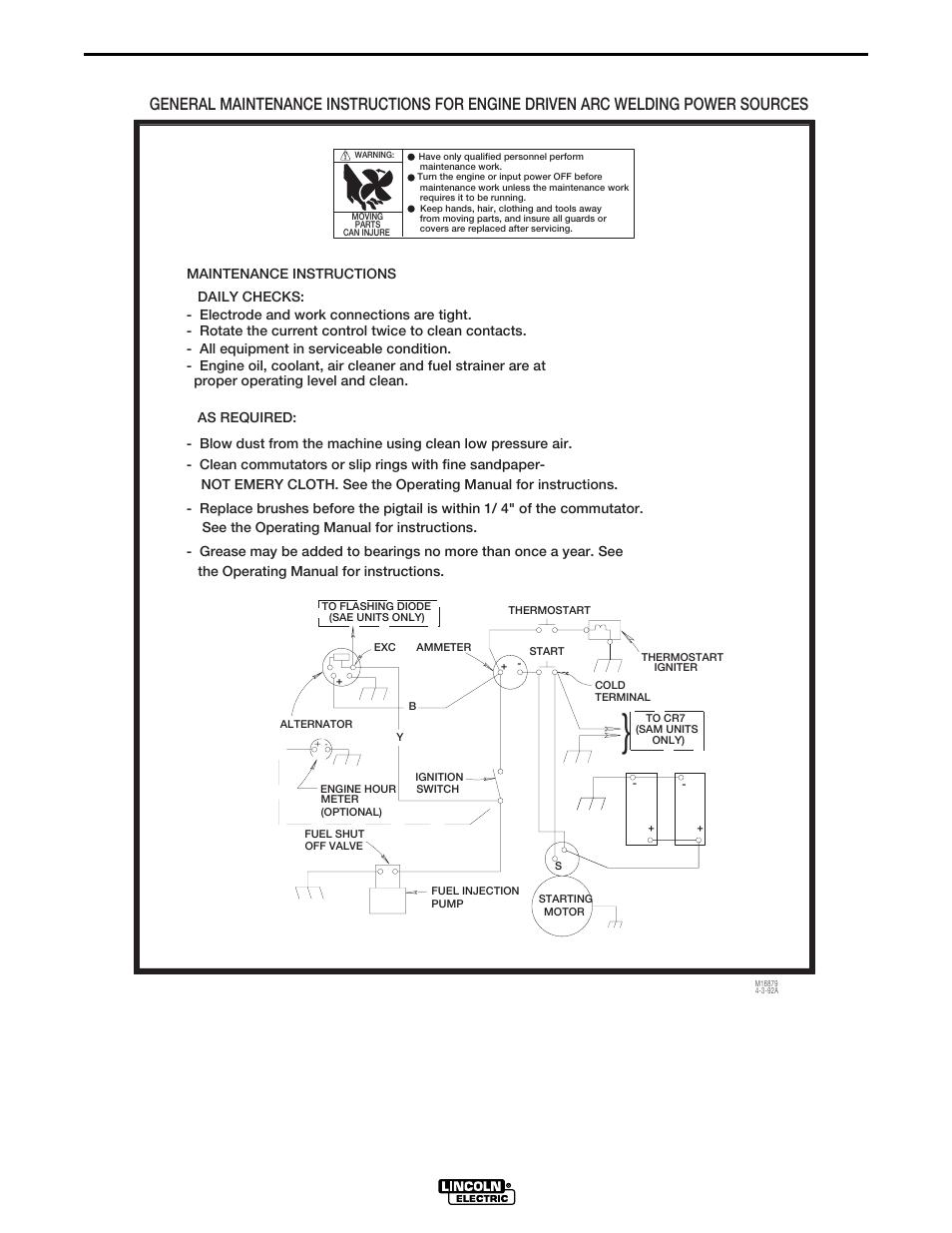 medium resolution of wiring diagrams sam400 engine wiring dia gram lincoln electric 65 lincoln wiring lincoln sam 400