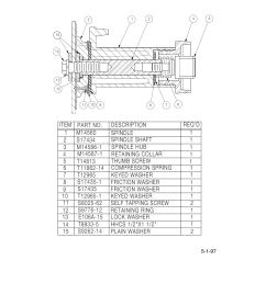 parts list for 30 lb spindle lincoln electric im537sa sp 170t 30lb user manual page 5 8 [ 954 x 1235 Pixel ]
