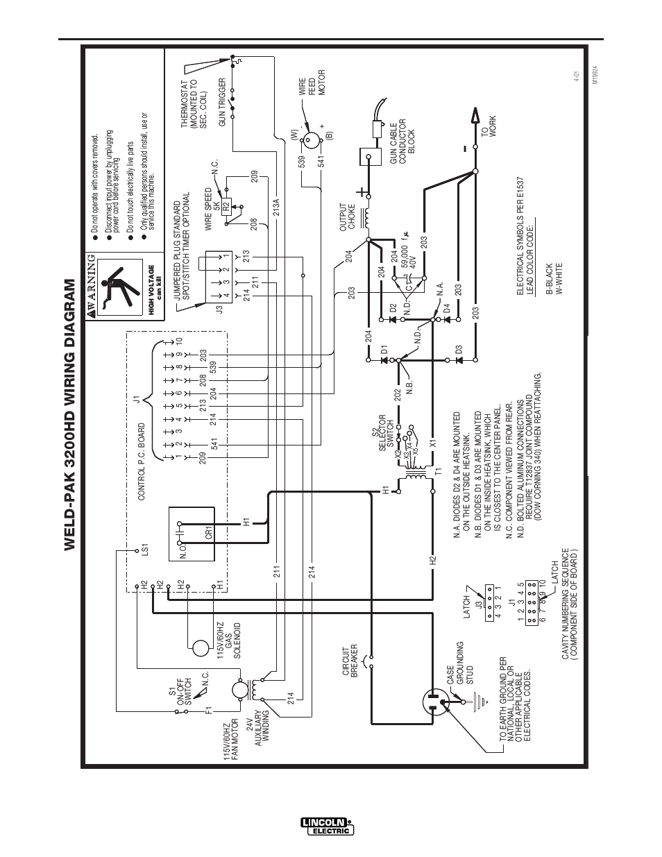 Lincoln 225 Arc Welder Wiring Diagram. Lincoln Electric