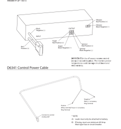 control wiring diagram d6341 control power cable model sp 1875 snowex [ 954 x 1235 Pixel ]