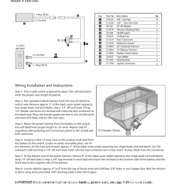 wiring diagram and instructions model vbr 080 wiring snowex wiring diagram 2500  [ 954 x 1235 Pixel ]