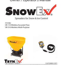 snowex sr110 wiring diagram diagram data schema snowex sr 210 user manual 28 pages also for [ 954 x 1235 Pixel ]