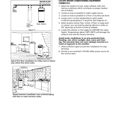 typical installations and equipment location star water systems water softener user manual page 3 [ 954 x 1235 Pixel ]