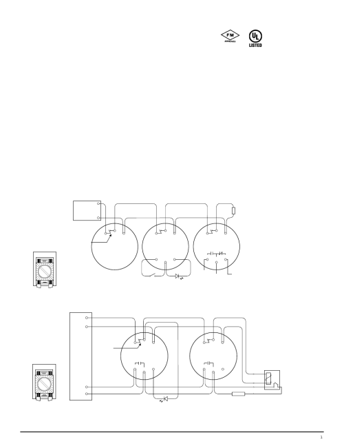 small resolution of edwards signaling esl 700 series user manual 4 pages rh manualsdir com simplex smoke detector wiring diagrams hvac smoke detector wiring