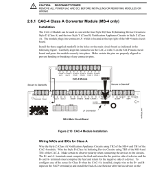 6 installation of optional modules 1 cac 4 class a converter module ms [ 954 x 1235 Pixel ]