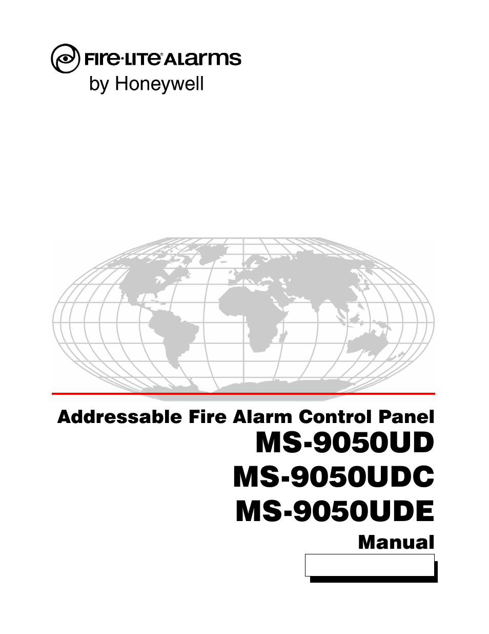 Fire-Lite MS-9050UDC Addressable Fire Alarm Control Panel