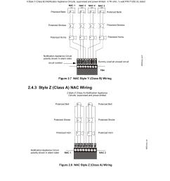 2 style y class b nac wiring 3 style z class a nac wiring signaling line circuit wiring manual firelite alarms [ 954 x 1235 Pixel ]