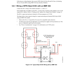6 mmf 302 wiring diagrams 1 wiring a nfpa style b idc with an mmf 302 mmf 302 wiring diagrams fire lite slc intelligent control panel wiring manual user  [ 954 x 1235 Pixel ]