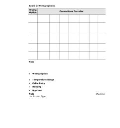 table 1 wiring options spectrex 40 40i triple ir ir3 flame [ 954 x 1235 Pixel ]