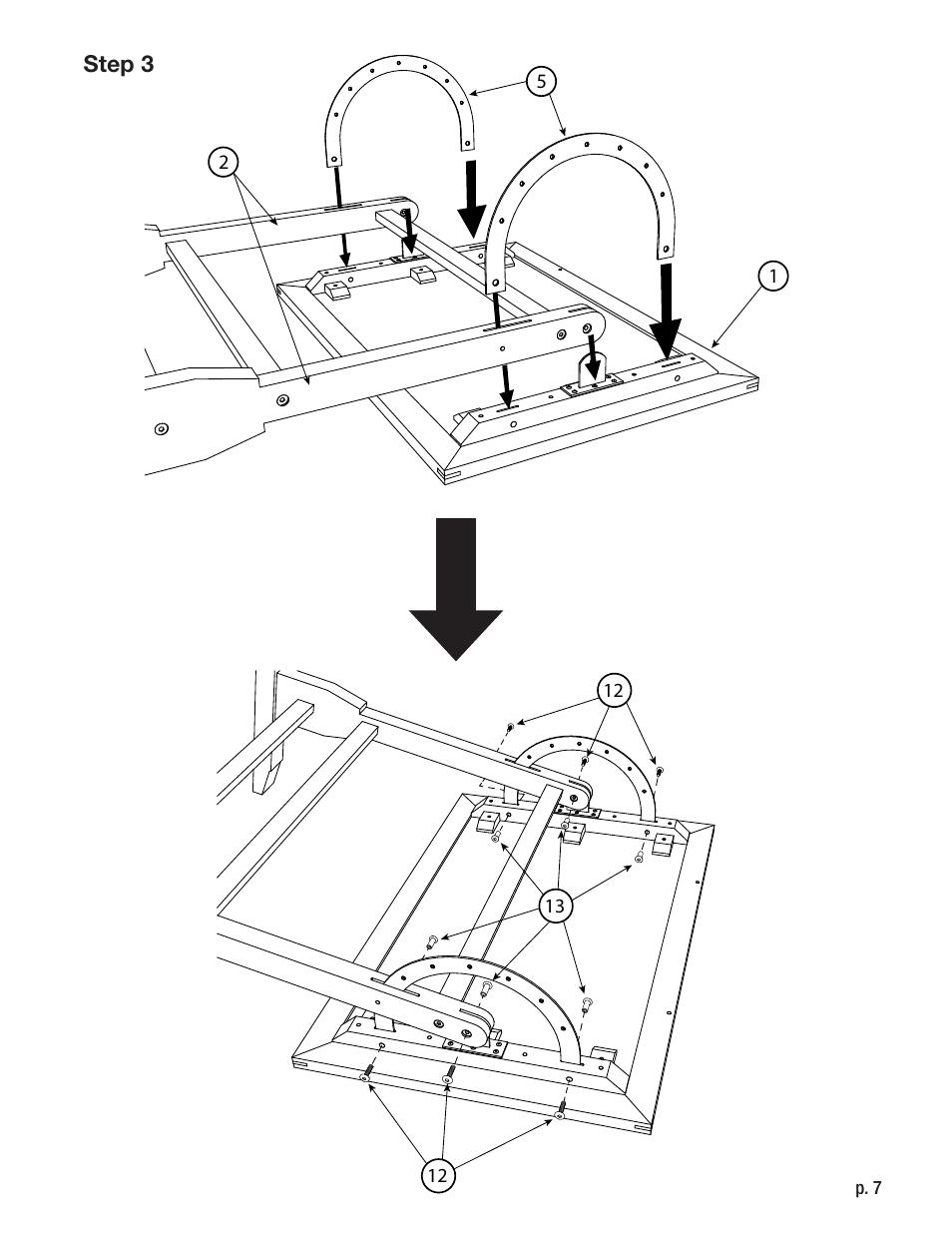 Studio Designs Vintage Drafting Table 42 inch User Manual
