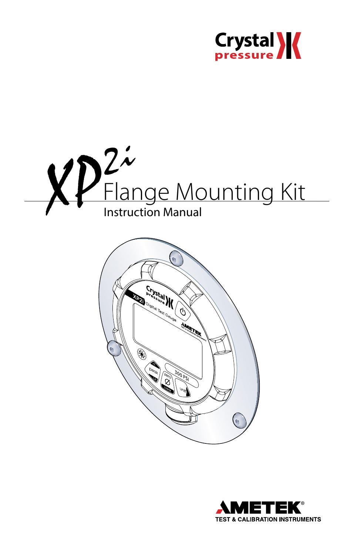 Crystal XP2i-DP Digital Differential Pressure Gauge User