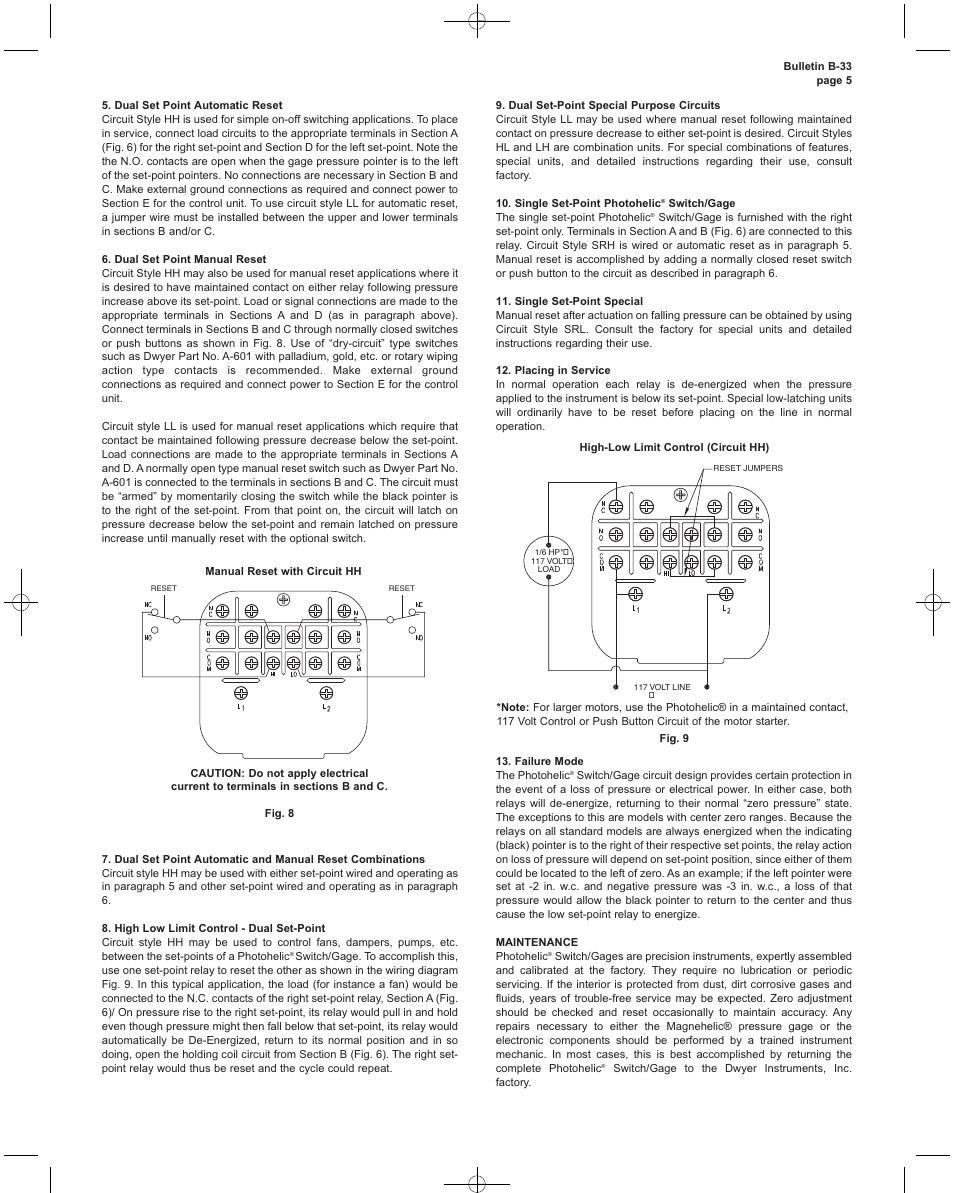 medium resolution of manual reset wiring diagram