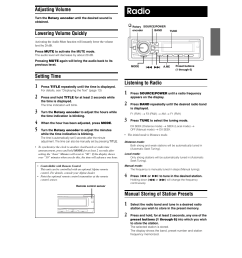 alpine cde 9852 page8 clock set volume mute radio operation alpine wiring diagram for alpine cde 143bt  [ 954 x 1278 Pixel ]