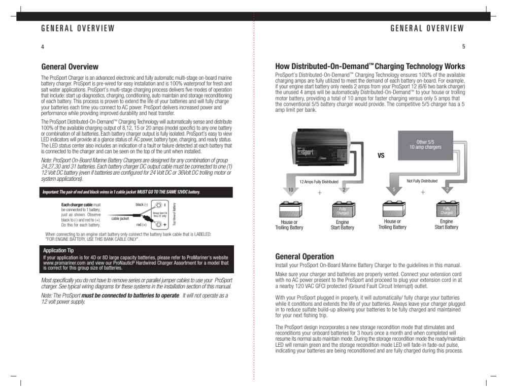 medium resolution of general overview how distributed on demand charging technology works promariner prosport gen 3 user manual page 4 14