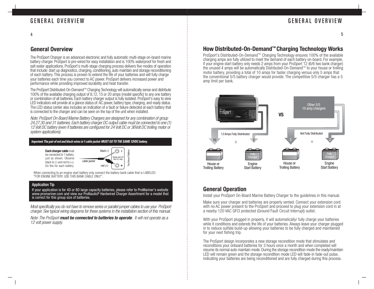 hight resolution of general overview how distributed on demand charging technology works promariner prosport gen 3 user manual page 4 14