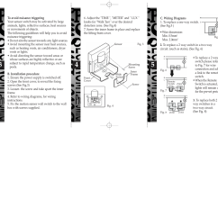 Pir Switch Wiring Diagram 2006 Can Am Outlander 650 Helpline Zv810 Motion Sensor Light Content Coverage Installation And