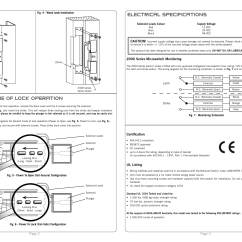 Electric Strike Wiring Diagram Yamaha Grizzly 600 Parts Trimec Es2000 Series Monitored User Manual