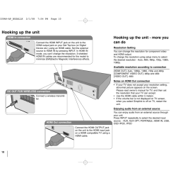 hooking up the unit hooking up the unit more you can do lg lht874 user manual page 10 28 [ 1351 x 954 Pixel ]