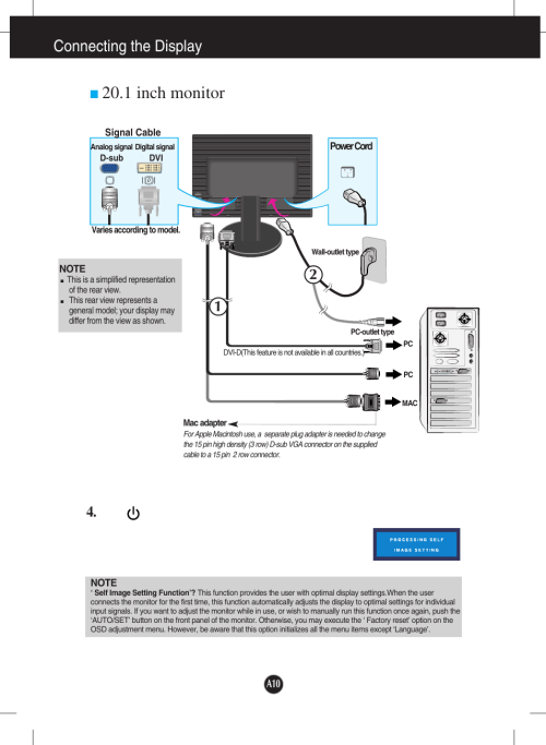 small resolution of 1 inch monitor connecting the display lg l204wt bf user manual page 11 32