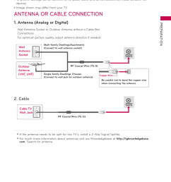antenna or cable connection antenna analog or digital cable lg 42ld520 user manual page 35 172 [ 954 x 1272 Pixel ]