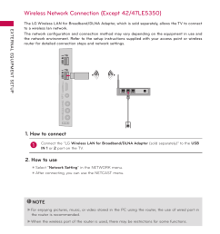 wireless network connection external equipment setup how to connect lg 50pz550 user manual page 58 206 [ 954 x 1272 Pixel ]
