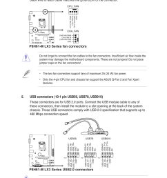 p8h61 m lx3 series fan connectors asus motherboard p8h61 m lx3 series user manual page 31 65 [ 954 x 1438 Pixel ]