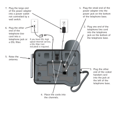 telephone base installation at t dect cl84209 user manual page 4 12 [ 954 x 1472 Pixel ]