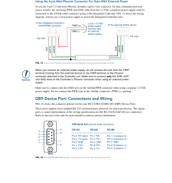 db9 device port connections and wiring amx netlinx integrated controller ni 3100 user manual page 28 36 [ 954 x 1235 Pixel ]