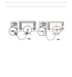 cables attaching the cables hp v185e 18 5 inch widescreen lcd monitor user manual page 8 30 [ 954 x 1123 Pixel ]