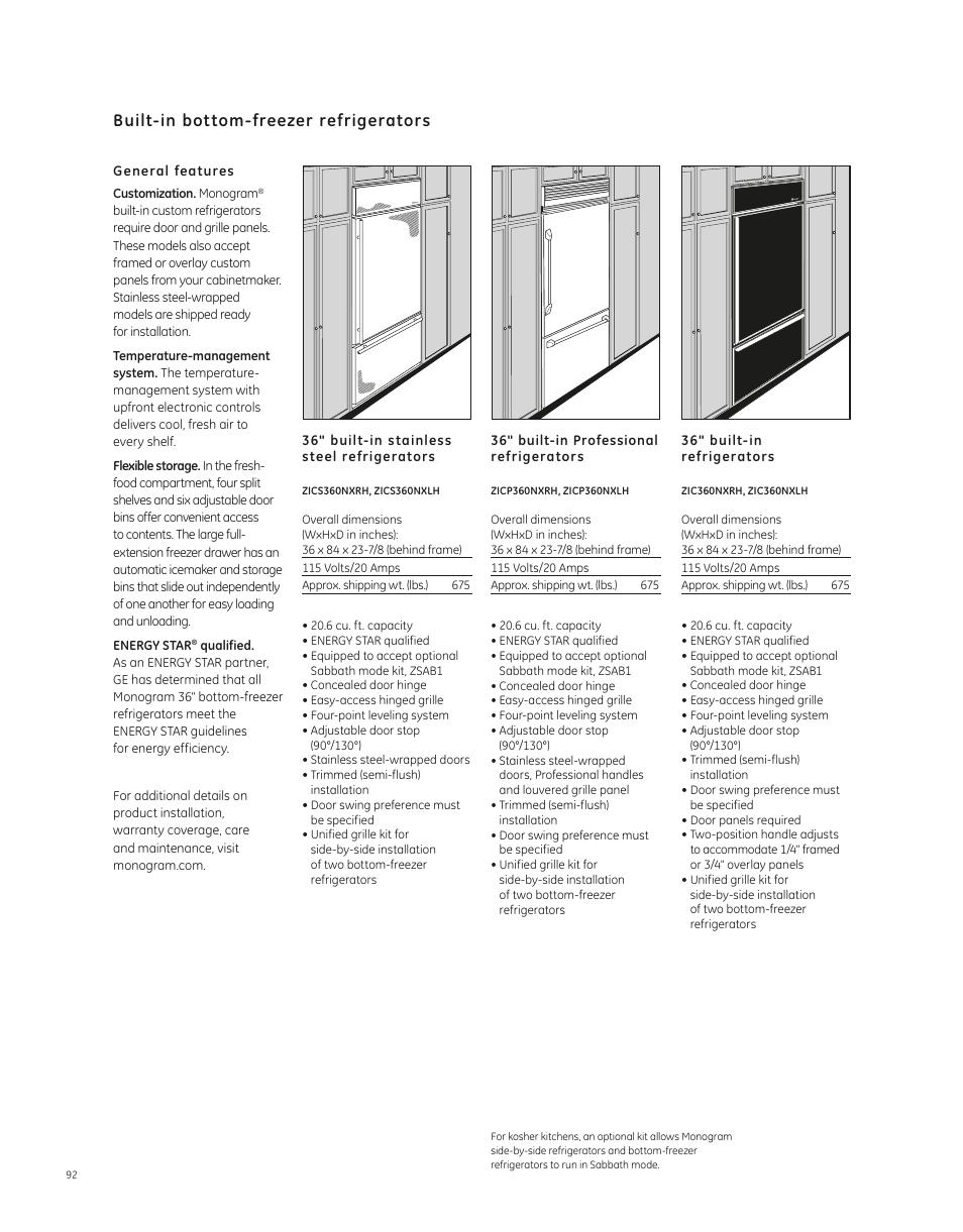 hight resolution of ge monogram side by side refrigerator manual best refrigerator zic360nxlh image ge refrigerator