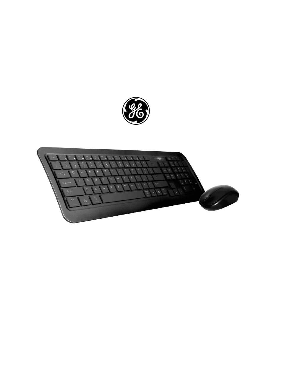 GE 98614 GE Wireless Thin-Profile Keyboard and Mouse User