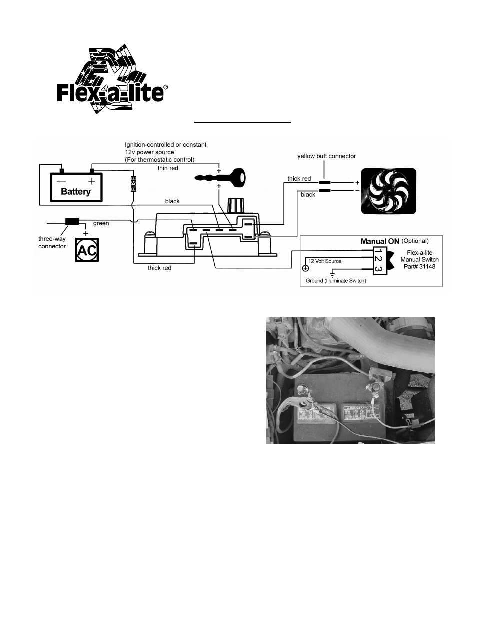 hight resolution of flex lite fan wiring diagram schematic diagram database flex a lite electric fan wiring diagram flex a lite wiring diagram