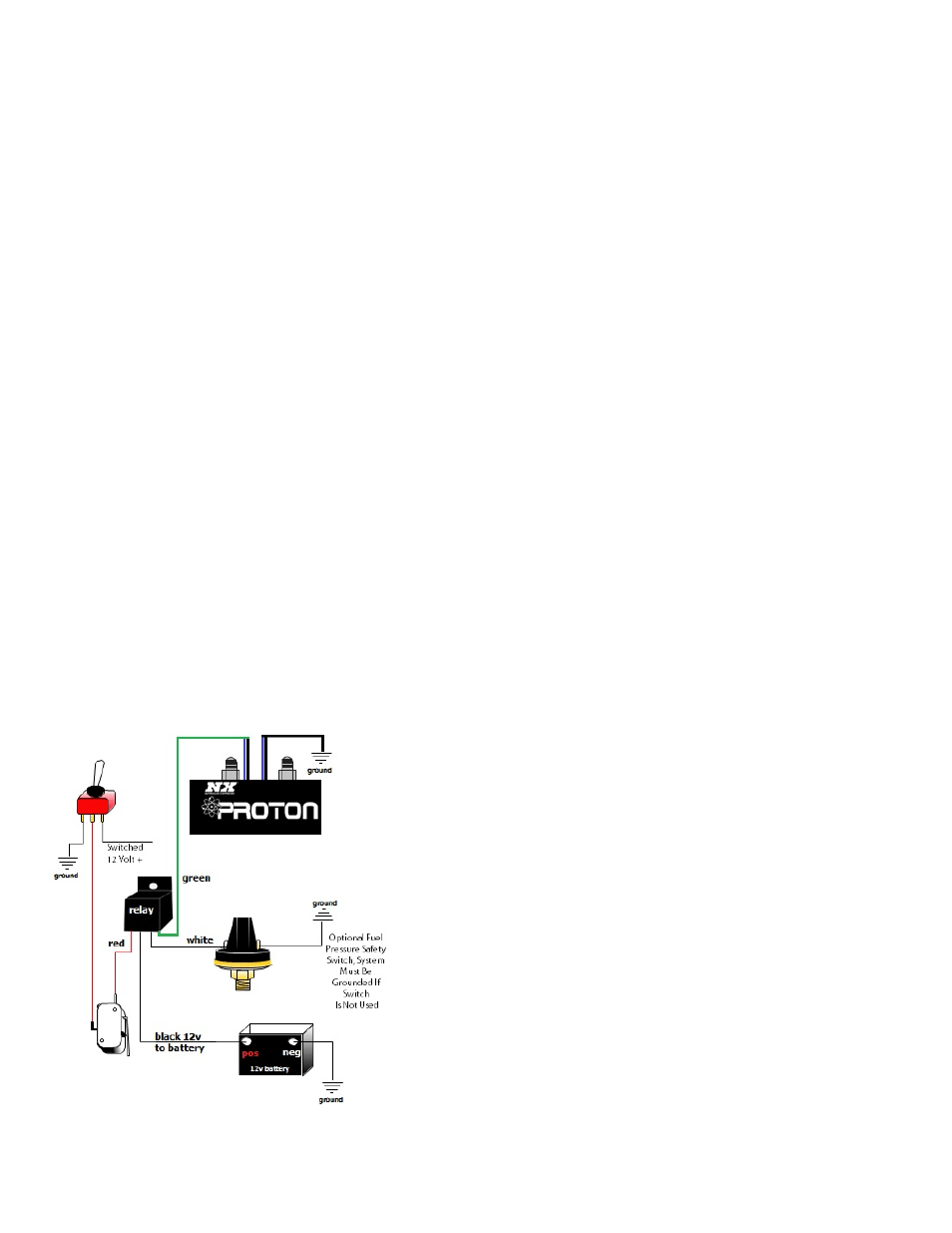 nitrous express proton wiring diagram rigid heddle loom systems user manual page 2 4